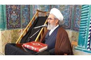 مراسم ارتحال آیت الله هاشمی رفسنجانی در مسجد جامع شهرستان خاش
