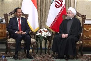 پیام تسلیت رئیس جمهوری اندونزی به روحانی