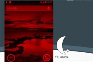 اپلیکیشن CF.lumen: مطالعه آسان در شب با Invert سفید و سیاه در نمایشگر (نیازمند روت)