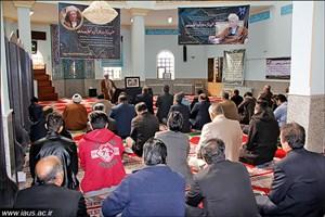 برپایی مراسم هفتمین روز درگذشت آیتالله هاشمی رفسنجانی در دانشگاه آزاد اسلامی سبزوار