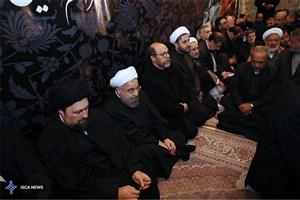 برگزاری مراسم هفتمین روزدرگذشت آیت الله هاشمی رفسنجانی در حرم مطهر امام(ره)
