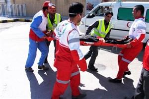 واژگونی  وانت  تویوتا حامل اتباع افغان/15 نفر مصدوم شدند