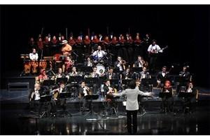 ارکستر بادی کارا به رهبری بردیا کیارس روی صحنه رفت