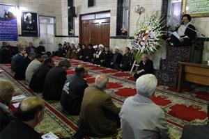 مراسم بزرگداشت آیت الله هاشمی رفسنجانی در مسجد جامع گرمسار برگزار شد
