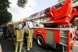 آتشسوزی یک مگامال در چهارراه لشگر