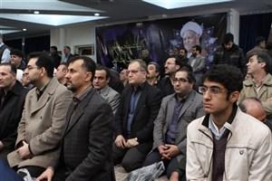 مراسم ترحیم آیت الله هاشمی رفسنجانی در واحد تهران جنوب/علم و بی ادعایی آیت الله زبانزد عام و خاص است
