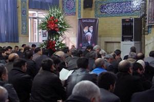 برگزاری مراسم هفتمین روز ارتحال حضرت آیت الله هاشمی رفسنجانی در اراک