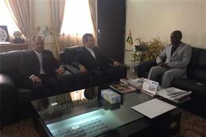 دیدار سفیر آکردیته ایران با وزیر امور خارجه توگو