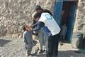 واکسیناسیون فلج اطفال در مناطق صعب العبور و کوهستانی تفتان/تصاویر