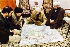 دیدار ابومهدی المهندس با صدر و تلاش برای بهبود روابط میان نیروهای شیعی عراق