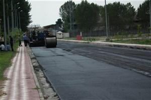 مرمت روکش آسفالت بزرگراه آزادگان تا پایان تابستان تکمیل می شود