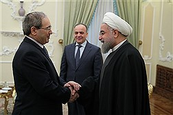 دیدار معاون نخست وزیر سوریه با دکتر روحانی