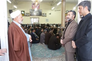 برگزاری مراسم ارتحال آیت الله هاشمی رفسنجانی در واحد طبس