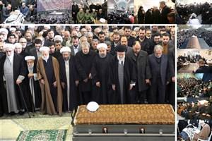خانواده مرحوم آیتالله هاشمی رفسنجانی از آحاد مردم و مسئولان تشکر کردند