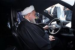 بازدید دکتر روحانی از محصولات تولیدی سه شرکت دانش بنیان