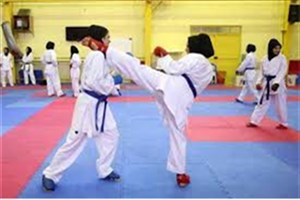 کاراته کاران دختر دانشگاه آزاد اسلامی در جایگاه دوم