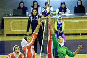 دعوت  ملی پوشان والیبال بانوان دانشگاه آزاداسلامی به تیم ملی
