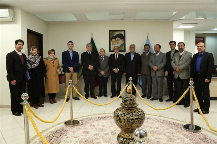 هیات پرتغالی در دانشگاه شهید بهشتی