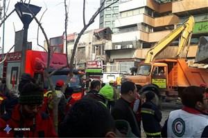 اموال گرانبهای ساختمان پلاسکو به گنجینه موقتی منتقل میشود