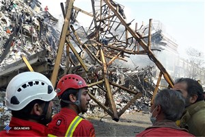 معاونت عملیات سازمان آتش نشانی :در حال حاضر نمی توان در زمینه فوت آتش نشانان قضاوت کرد