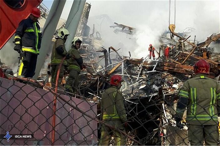 پلاسکو یک روز بعد از حادثه