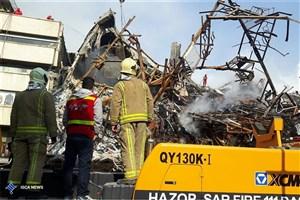 جزییات عملیات نیروهای امداد آبفای تهران برای نجات آتشنشانها