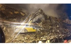 تخریب ساختمان مجاور پلاسکو