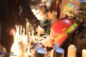 سروده های یک شاعر در وصف شهدای آتشنشان سانحه پلاسکو