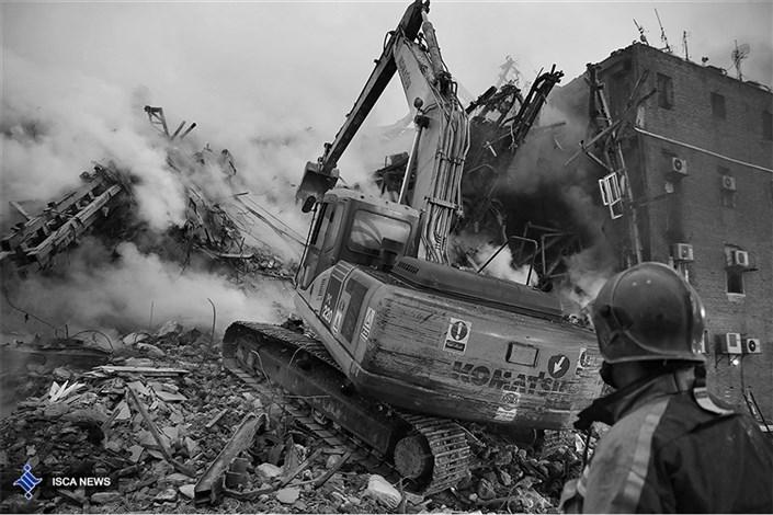 سومین روز از حادثه پلاسکو