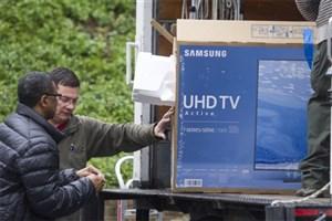 تلویزیون هوشمندی که برای خانه جدید اوباما خریدند/ عکس