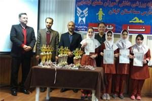 کسب مقام سوم تیم  المپیاد توسط  دانش آموزان سما واحد لنگرود