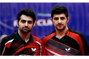 شکست تیم دو نفره برادران عالمیان مقابل نایب قهرمان جهان