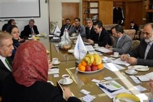 دیدار هیأت دانشگاهی ترکیه با مسئولین پردیس دانشکدههای فنی دانشگاه تهران