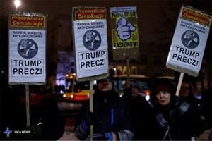 تظاهرات ضد ترامپ در آمریکا