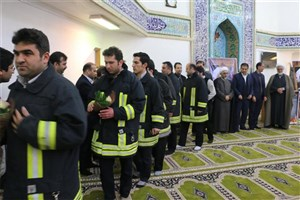 مراسم یادبود شهدای پلاسکو در واحد اردبیل برگزار شد
