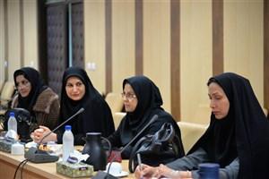 چهاردهمین نشست شورای تخصصی زنان فرهیخته دانشگاه آزاد اسلامی بوشهر برگزار شد