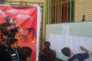 تشکیل کمپین چهارشنبهسوری بیخطر؛ دانشآموزان سما کرمان عهدنامه مهربانی بستند
