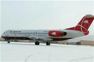انجام پروازهای فرودگاه تبریز در دمای ۵- درجه/ احتمال تاخیر پروازهای بعدازظهر فرودگاههای تبریز و ایلام