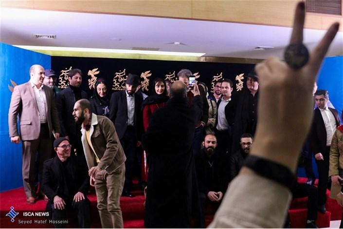 """جشنواره فیلم فجر- نشست خبری فیلم """"آزاد به قید شرط"""""""