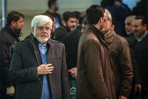 حضور عارف در مراسم خاکسپاری شهدای آتش نشان/ عکس