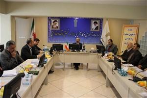 جلسه شورای نظارت و ارزیابی دانشگاه جامع علمی کاربردی برگزار شد