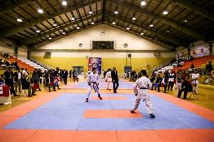 جدال تیم کاراته دانشگاه آزاد اسلامی  برای قهرمانی در سوپر لیگ