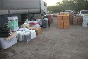 توقیف محموله قاچاق 700 میلیون ریالی توسط پلیس ایرانشهر