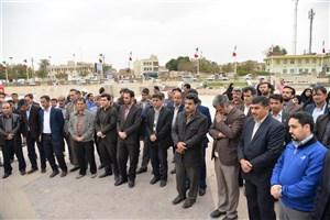 تیراندازی معاون وزیر در دانشگاه آزاد اسلامی واحد بوشهر