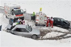 ۸ استان درگیر برف و کولاک و سیل/امدادرسانی به ۲۵۱۷ نفر