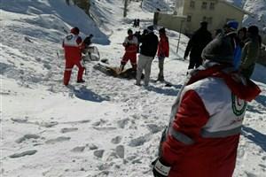 سقوط  بهمن در شمشک/ 4 کوهنورد محبوس شدند