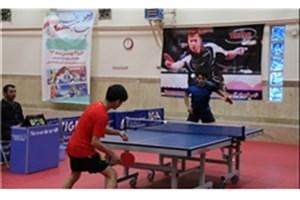 پیروزی تیم تنیس روی میز دانشگاه آزاد اسلامی در آغاز مرحله پلیآف لیگ برتر