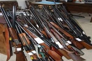 توقیف حدود 900 قبضه سلاح غیرمجاز از شکارچیان در مازندران