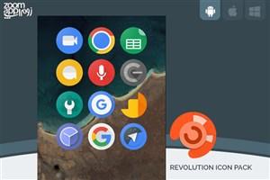 برنامه Revolution Icon Pack: آیکون های گوگل پیکسل را به گوشی خود بیاورید