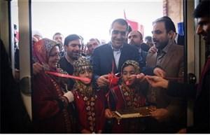 وزیر بهداشت کلینیک ویژه تخصصی و دیالیز آق قلا را افتتاح کرد